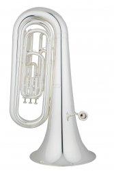 ANDREAS EASTMAN tuba Bb EBB322S, STUDENT, 3/4, 4 wentyle tłokowe, posrebrzana, z futerałem