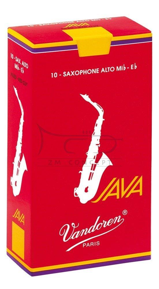 VANDOREN JAVA RED stroiki do saksofonu altowego - 2,5 (10)