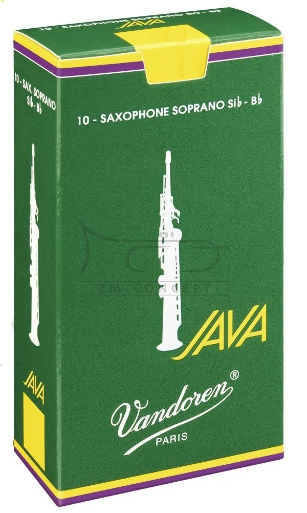 VANDOREN JAVA stroiki do saksofonu sopranowego - 3,5 (10)