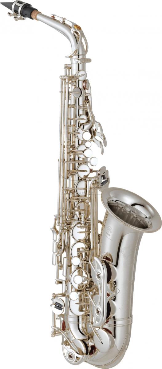 YAMAHA saksofon altowy YAS-62S posrebrzany, z futerałem
