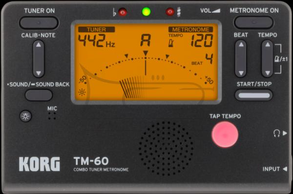 KORG metro-tuner chromatyczny TM50 BK