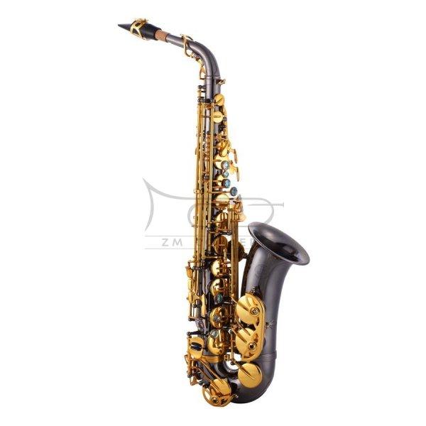 JOHN PACKER saksofon altowy Es JP045BG Black lacquer, lakierowany, z futerałem