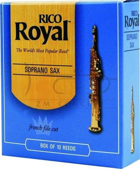 RICO ROYAL stroiki do saksofonu sopranowego - 3,5 (10)