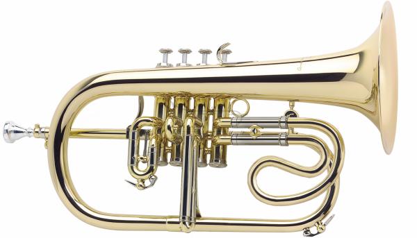 ANTOINE COURTOIS flugelhorn Bb model AC156NR, posrebrzany, czara XL