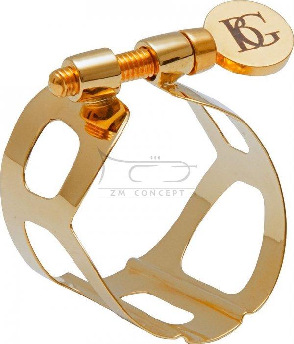 BG L11 ligatura do saksofonu altowego pozłacana TRADITION