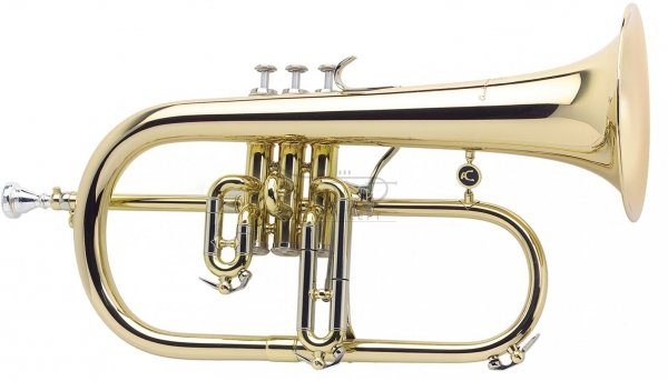 ANTOINE COURTOIS flugelhorn B model AC159R-1 Reference PROFESSIONAL, lakierowany