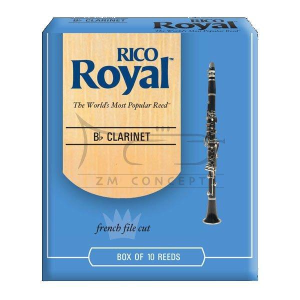 RICO ROYAL stroiki do klarnetu B - 1,5 (10)