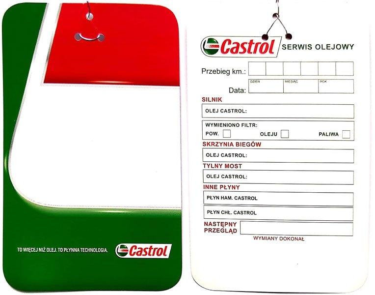 Castrol Zawieszka Na Silnik Przy Wymianie Oleju 0999 Produkty Promocyjne Sklep Internetowy Amytomamy Pl