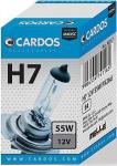 CARDOS Żarówka H7 12V 55W PX26d