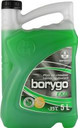 Płyn do chłodnic na glikolu propylenowym do -35stC BORYGO EKO 5L