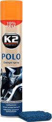 K2 POLO COCKPIT BRZOSKWINIA + MIKROFIBRA 750ml do kokpitu