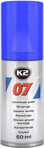 K2 0705 Preparat wielozadaniowy odrdzewiacz 50ml