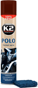 K2 POLO COCKPIT KAWA + MIKROFIBRA 750ml do kokpitu