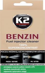 K2 BENZIN Do czyszczenia wtrysków w siln.benzynowych 50ml