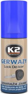 K2 GERWAZY Odmrażacz do zamków 50ml