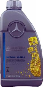 OEM Oryginalny Mercedes MB 229.5 5W40 1L
