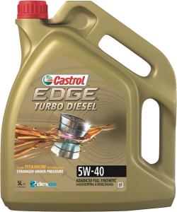 CASTROL EDGE Turbo Diesel 5W-40 5L.