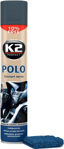 K2 POLO COCKPIT MAN + MIKROFIBRA 750ml do kokpitu