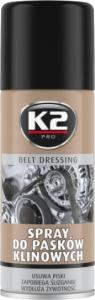 K2 BELT DRESSING przeciw piszczeniu pasków klinowych 400ml