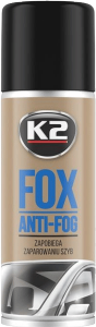 K2 FOX Pianka przeciwko parowaniu szyb 150ml
