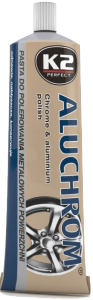 K2 ALUCHROM Pasta do chromu i metali 120g