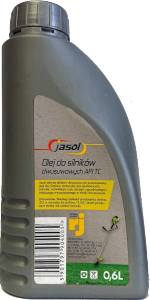 JASOL 2T Stroke OIL  Semisynthetic TC  0,6L zielony