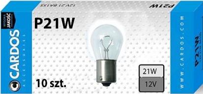 CARDOS Żarówka P 21W 12V