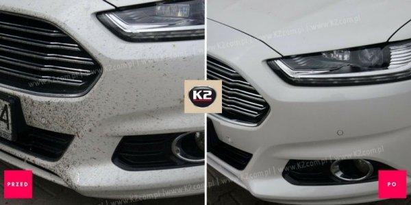 K2 NUTA ANTI-INSECT Do usuwania owadów z szyb i karoserii 770ml