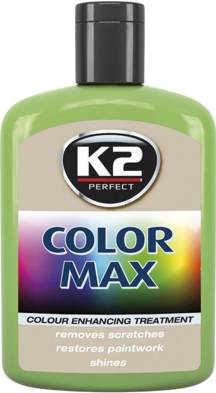 K2 K020 Wosk koloryzujący 200ml 00011 jasnozielony
