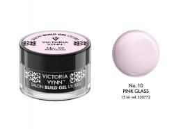 VICTORIA VYNN Żel budujący No. 10 15ml PINK GLASS Build Gel