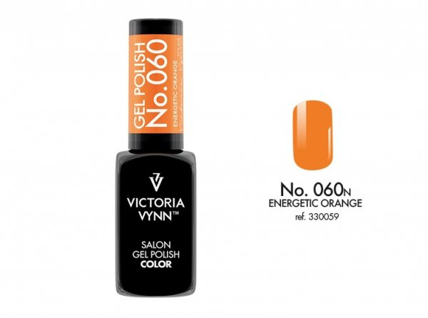 Victoria Vynn Lakier hybrydowy 060n 8ml ENERGETIC ORANGE Gel Polish COLOR Victoria Vynn