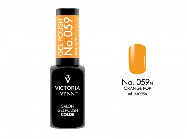 Victoria Vynn Lakier hybrydowy 059n 8ml ORANGE POP Gel Polish COLOR Victoria Vynn