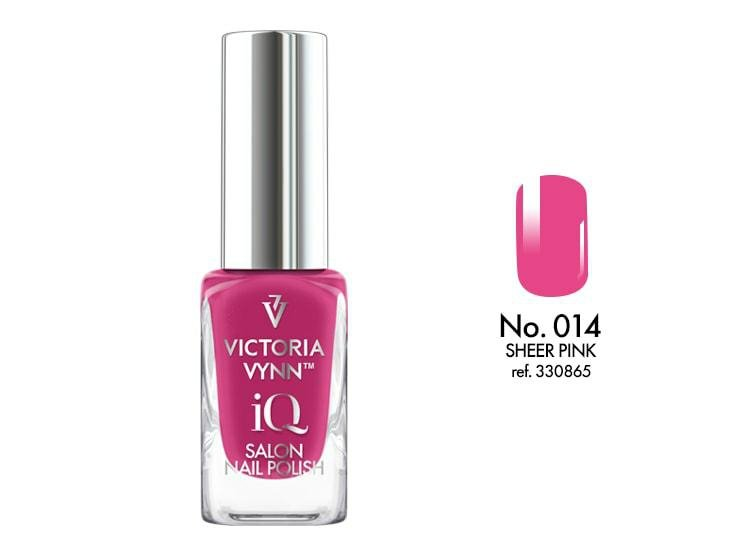 VICTORIA VYNN Nail polish IQ 014 9ml SHEER PINK Lakier IQ do paznokci