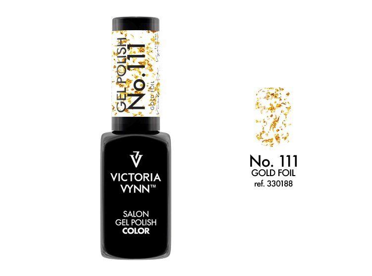 Victoria Vynn Lakier hybrydowy 111 8ml Gold Foil  Gel Polish COLOR Victoria Vynn