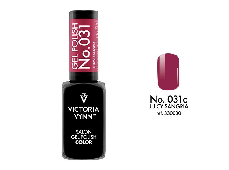 Victoria Vynn Lakier hybrydowy 031c 8ml JUICY SANGRIA Gel Polish COLOR Victoria Vynn