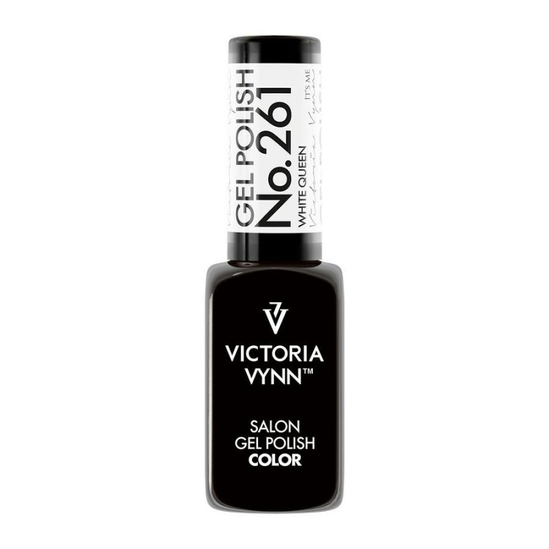 VICTORIA VYNN 261 Gel Polish Color WHITE QUEEN Lakier hybrydowy 8ml