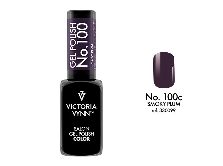 Victoria Vynn Lakier hybrydowy 100c 8ml SMOKY PLUM Gel Polish COLOR Victoria Vynn