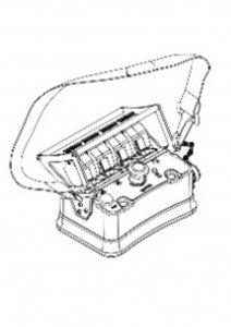 Zdalne sterowanie radiowe  4 Funkcyjny BELLY-BOX ML510 /510L