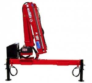 Żuraw Maxilift ML180.2 D E12V komplet z rama + 2 podpory H