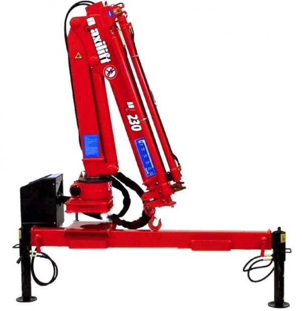 Żuraw Maxilift ML230.3D H Komplet z rama + 2 podpory H