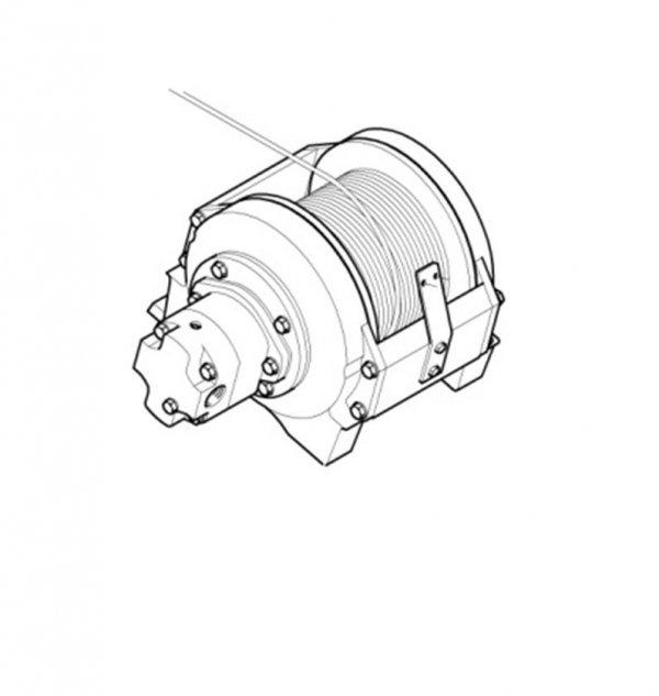 Wciagarka Hydrauliczna  dla wersji , ML 400./2/ML400.3/MLdooL.2 /ML500.2 /ML500.3/ ML500L.2  ECI