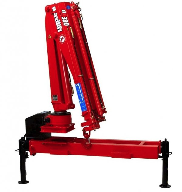 Żuraw Maxilift ML 380.3 E 24V D +rama podporowa + 2 nogi Hydrauliczne