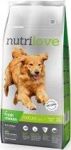 Nutrilove Premium Mature +7 - ze świeżym kurczakiem 12kg
