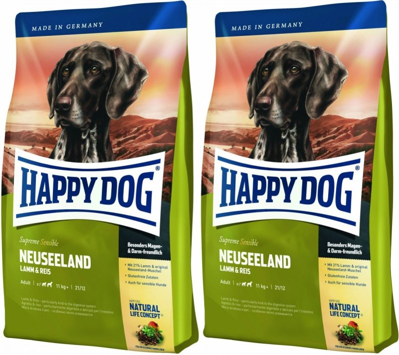 Happy Dog Supreme Sensible Neuseeland 2x12,5kg (25kg)