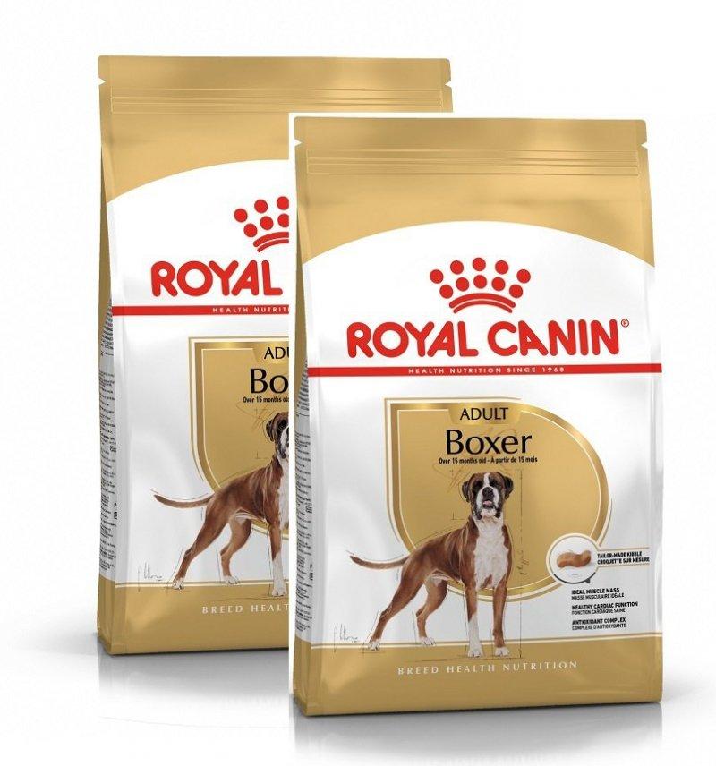 Royal Canin Boxer Adult 2x12kg (24kg)