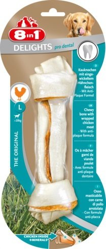 Przysmak 8in1 Dental Delights Bone L 1szt.