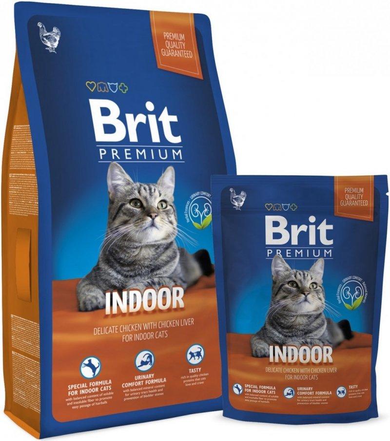 Brit Premium Cat Indoor 8kg