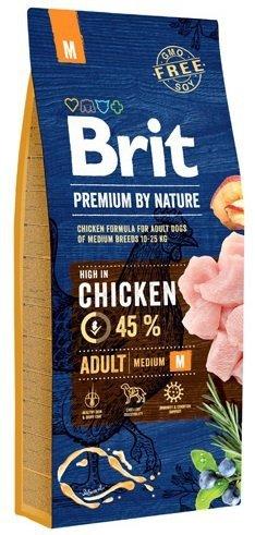 Brit Premium By Nature Medium Adult M 3kg