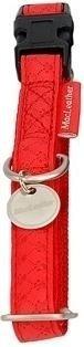 Obroza regulowana Mac Leather 10mm czerwona