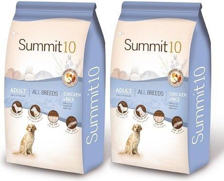 Summit10 Super Premium Chicken & Rice - Kurczak i ryż dla dorosłych psów 2x15kg
